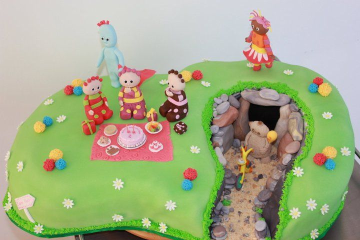 Great cave cake decorating pinterest for In the night garden cakes designs