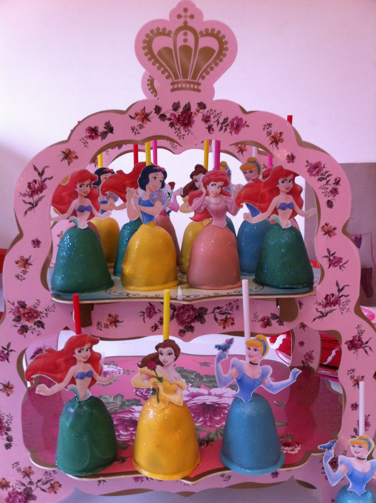 My Princess Cake Pops!