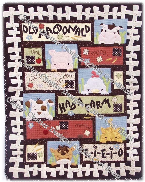 Old Macdonald quilt pattern Quilt Ideas Pinterest