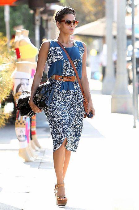 Eva Mendes in West Hollywood | Tom & Lorenzo