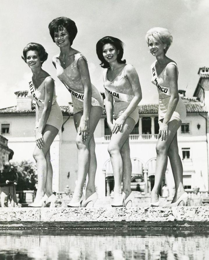 Pageants, oh dear! Miss Universe!