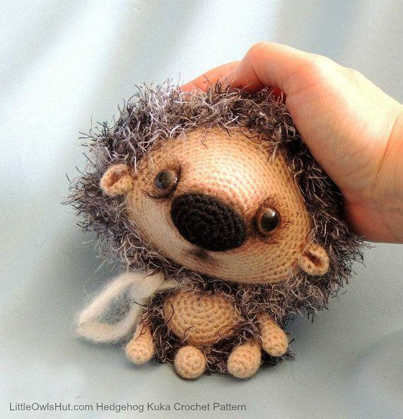 Amigurumi Hedgehog : 098 Hedgehog Kuka - Amigurumi Crochet Pattern PDF file by ...