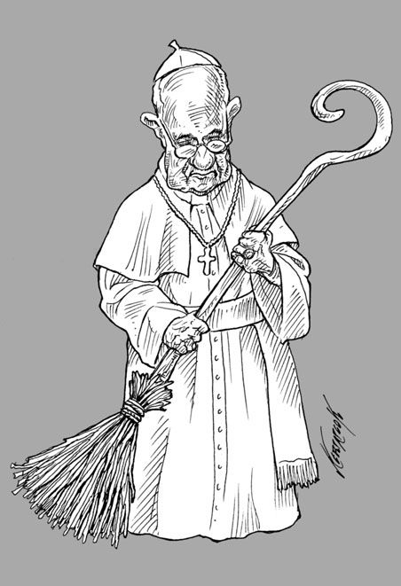Pape François 2013