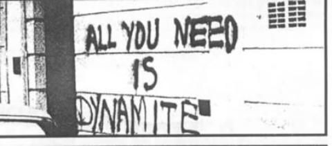 all you need is dynamite.
