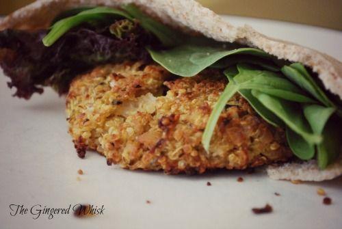 Zucchini Quinoa Burgers | Savoury Bites | Pinterest