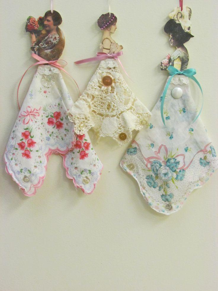 Викторианской Ханки Paper Dolls