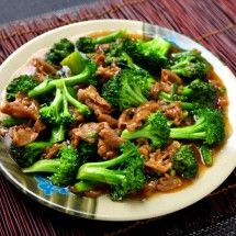 Chinese Beef and Broccoli (take out sugar and cornstarch, don't serve ...
