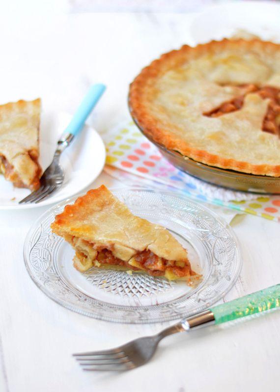 Brown Butter Caramel Apple Pie | Sweet Tooth | Pinterest