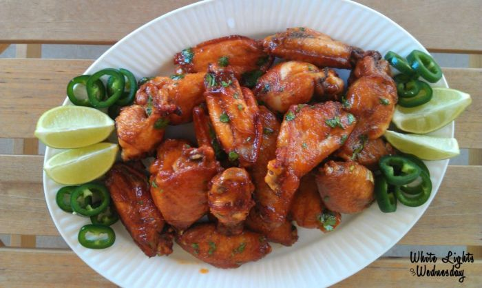Symon's Sriracha Lime Wings