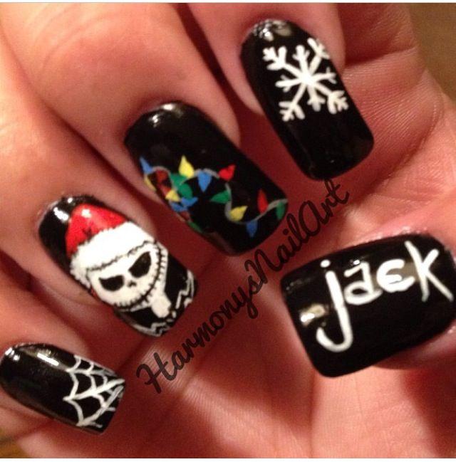 Nightmare Before Christmas Nail Designs: Nightmare before christmas ...