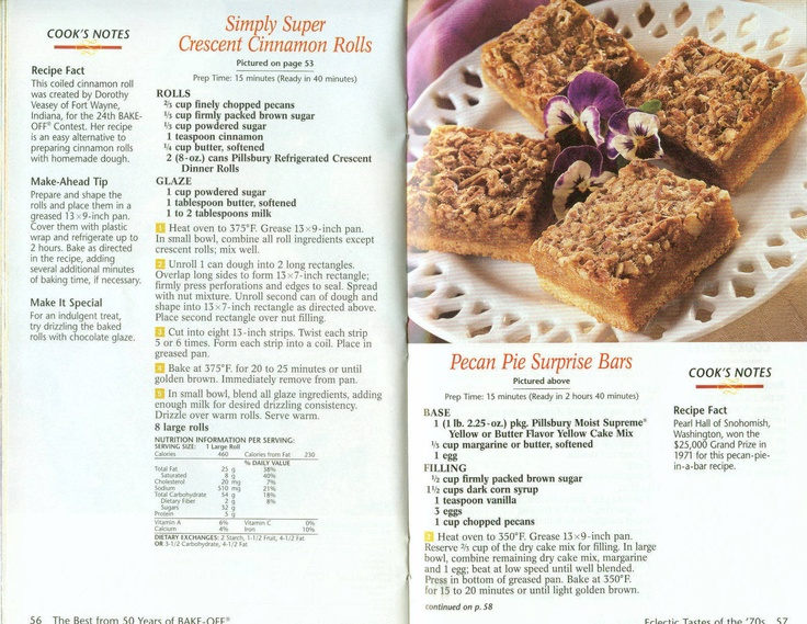 Pecan Pie Surprise Bars | Old Fashioned Recipes | Pinterest