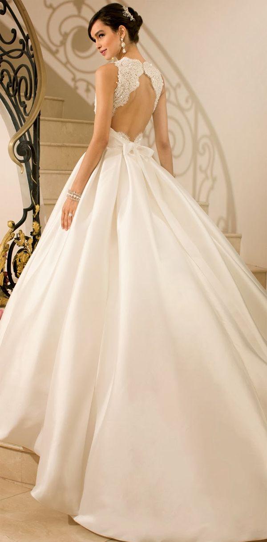 Vestidos de novia empapados