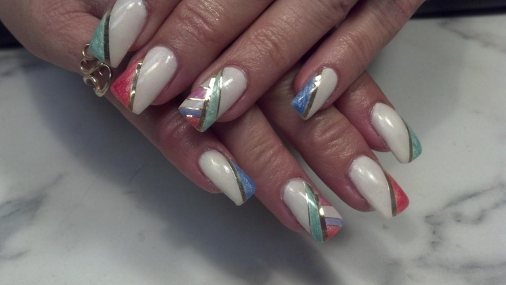 Nails by Loretta Nielsen ~ Angel Love Nail Apprentice Program Graduate