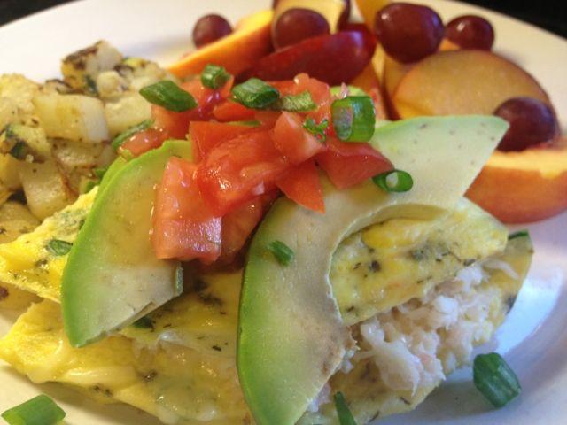crab and avocado salad lime crab salad in avocado halves crab cakes ...