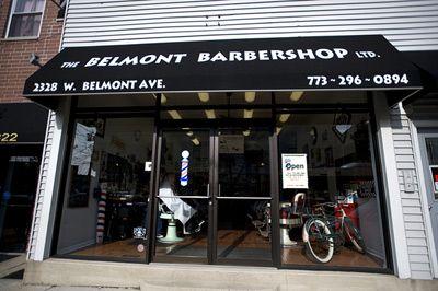 Barber Shop Chicago : ... : belmontbarbershop.com) Belmont Barbershop in Chicago Pin