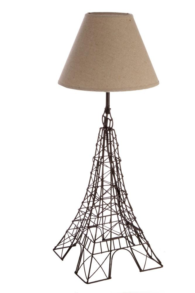 eiffel tower table lamp light up your life pendants table lamps et. Black Bedroom Furniture Sets. Home Design Ideas