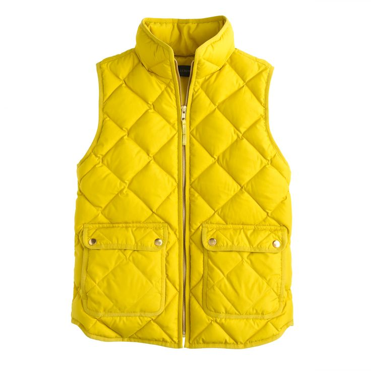 Excursion quilted vest : puffer | J.Crew