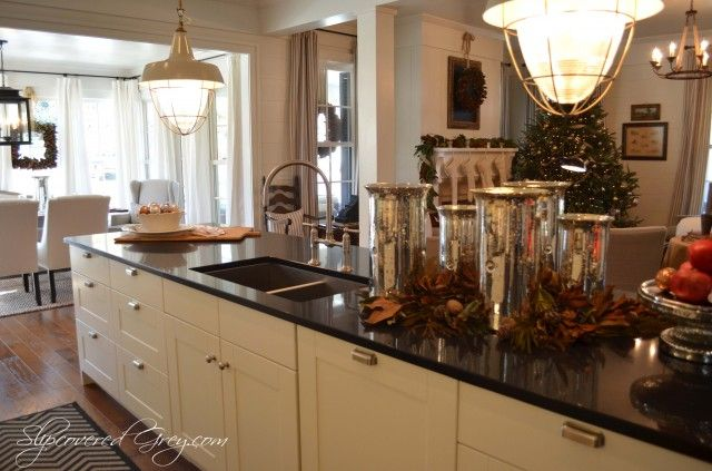 Southern living idea house kitchen home great design for Southern kitchen design