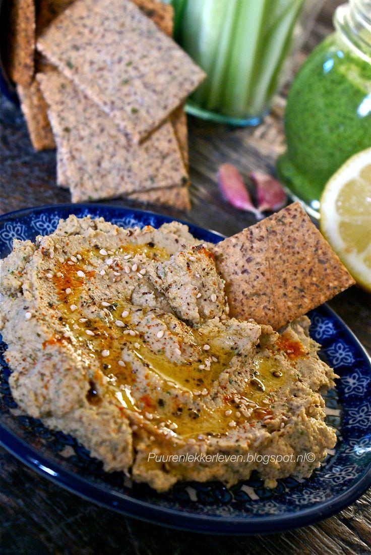 Roasted cauliflower hummus #glutenfree #sugrafree #clean #paleo # ...
