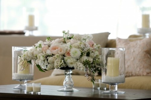 coffee table arrangement flowers pinterest