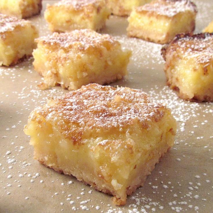 Whole Lemon Bars | Yummy desserts and cookies | Pinterest