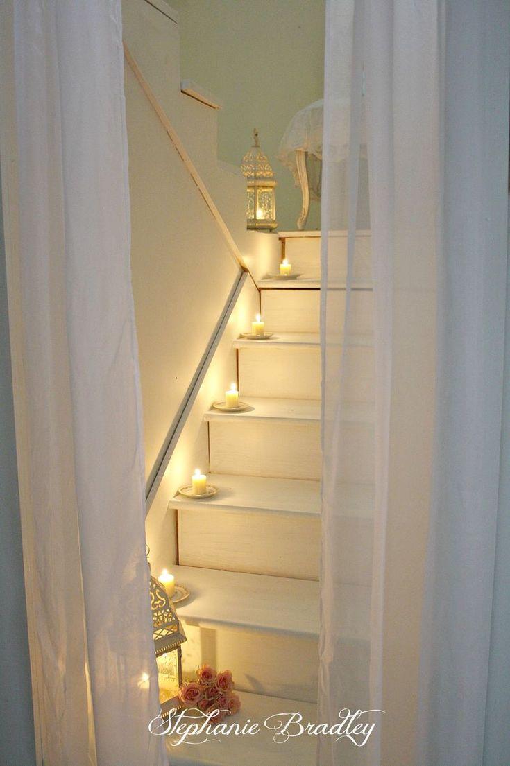 Hermosa, qué manera divertida de decorar una casa cuando una pareja se va de boda para la luna de miel?  O Aniversario?