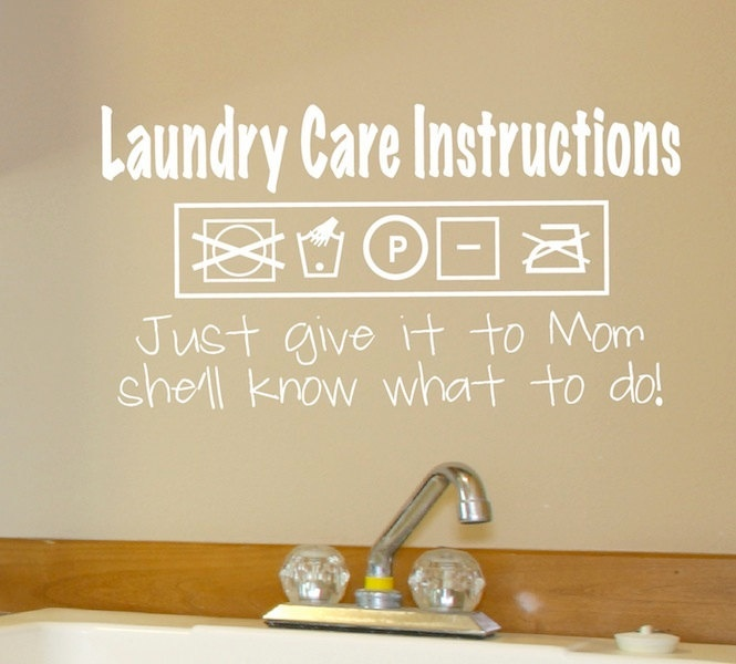 Laundry Room Vinyl Wall Quotes Wall Stickers For Laundry Room  Peenmedia