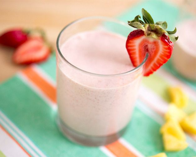Coconut-Pineapple-Strawberry Smoothie | Thirst | Pinterest