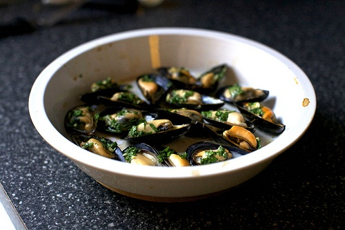 Broiled Mussels | Food | Pinterest