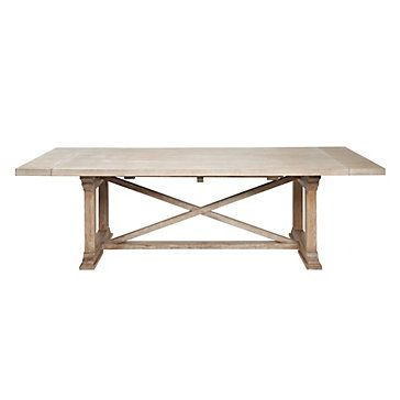 Rencourt Dining Table - White Wash | Dining-tables | Dining-room | Furniture | Z Gallerie