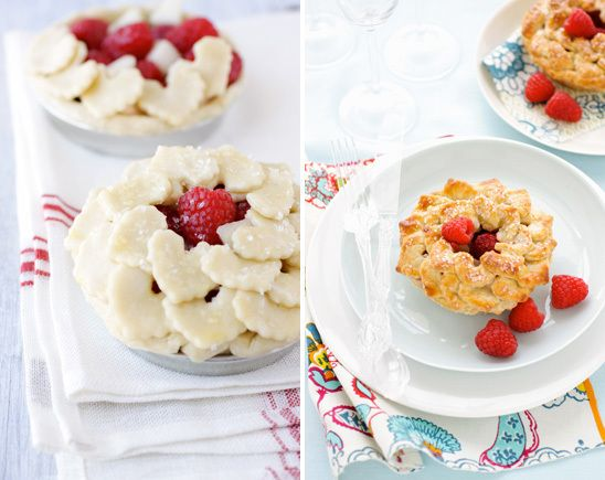 Pear & Raspberry Mini Fruit Pies