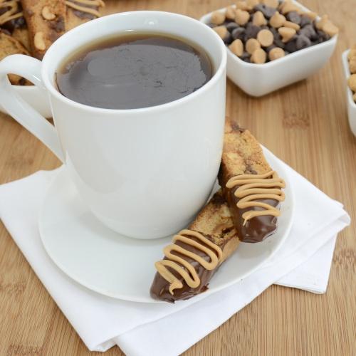 Peanut Butter Chocolate Chip Biscotti | Recipe