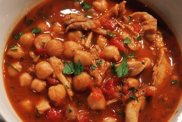 Lebanese Chickpea Stew - Amateur Gourmet--- (I am Vegetarian so I don ...