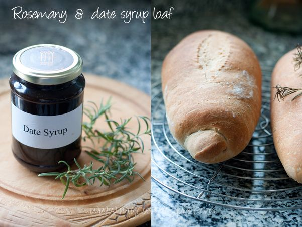 Rosemary and date syrup loaf | most definitely i am making this | Pin ...