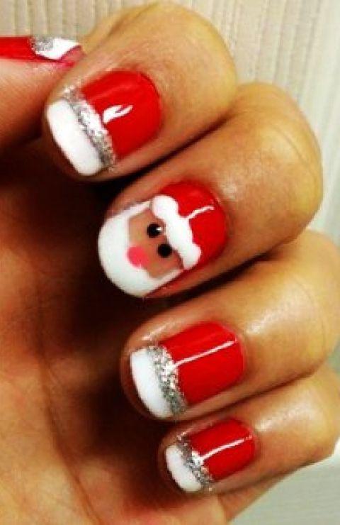 santa claus nail art | ☆Nail☆
