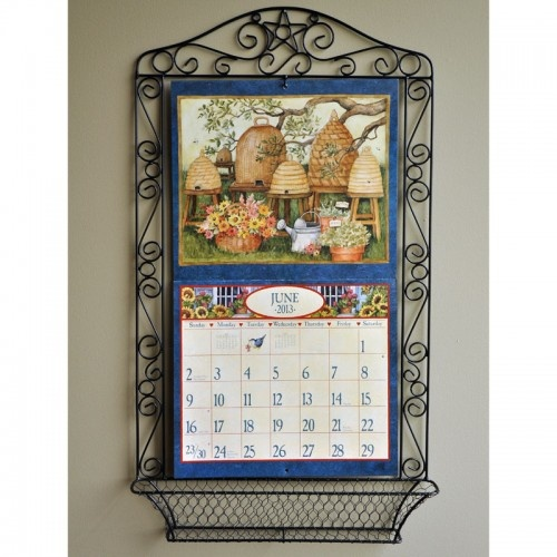 WROUGHT IRON Wall Calendar Frame | For the Home | Pinterest