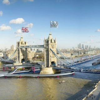 new roads for london 2012.