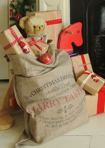 Personalised Christmas Sack - Ampleforth