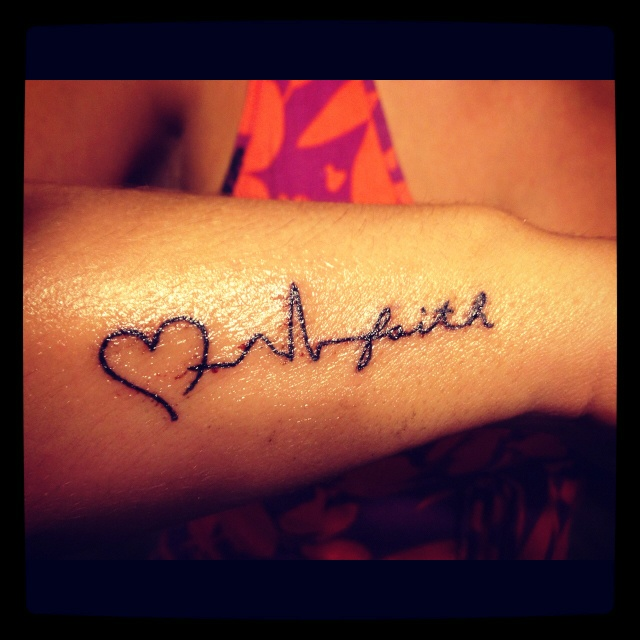 Beautiful Tattoo For People In The Medical Field