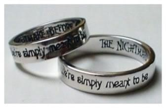 """'Nightmare Before Christmas """"simply meant to be"""" rings."""