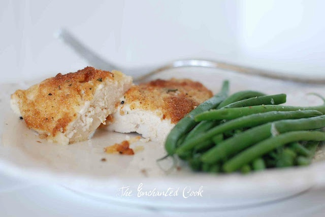 The Enchanted Cook: Parmesan Crusted Chicken {Hellmann's Mayo Recipe ...