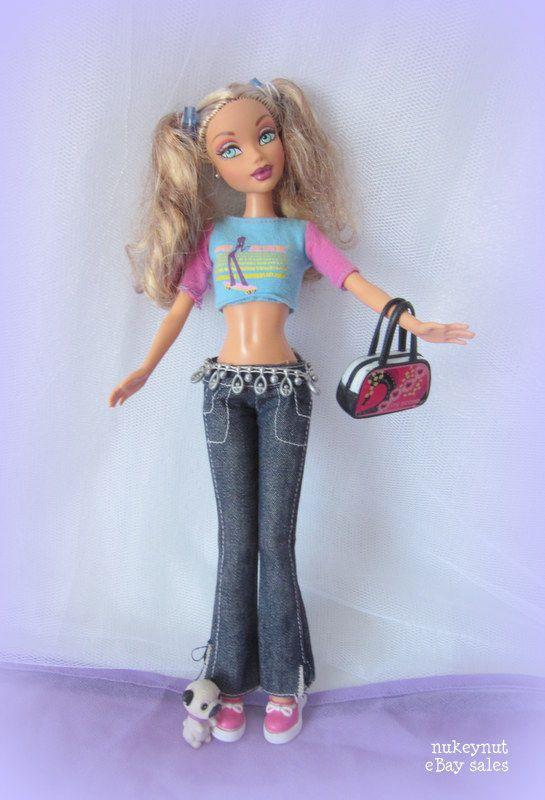 My Scene Barbie Swappin' Styles interchangeable heads.