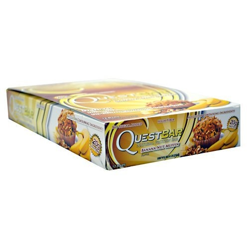 QUEST NUTRITION Quest Natural Protein Bar, Banana Nut Muffin (12 ea ...