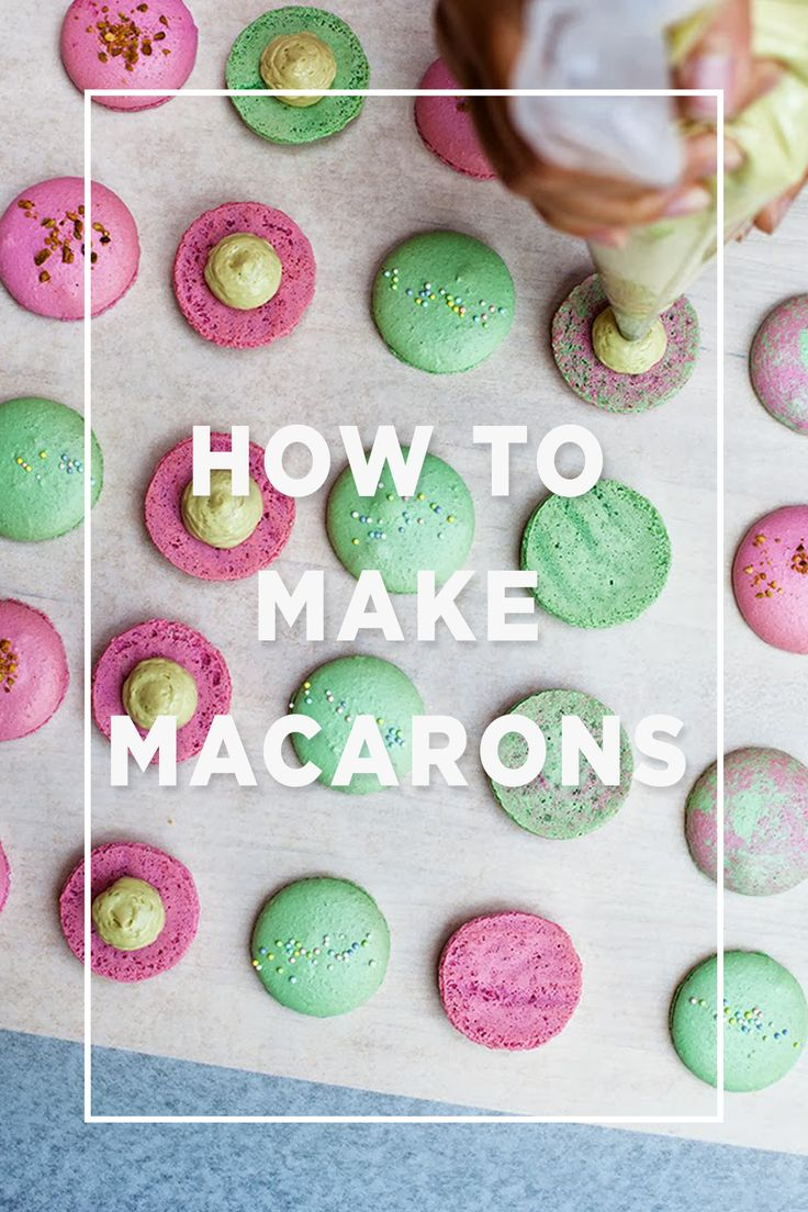 How to make Macarons / | Let's cook, bake or eat!!! | Pinterest