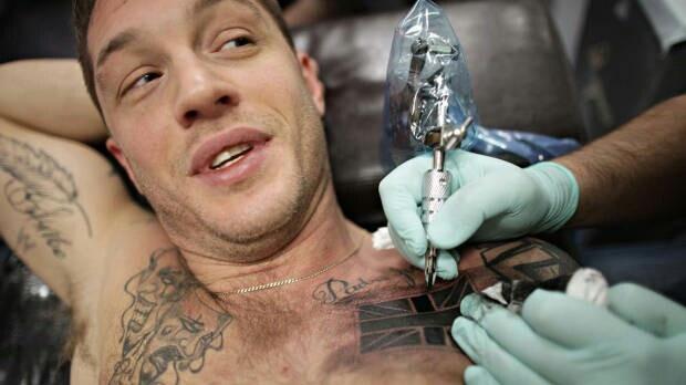 Tom hardy | Tattoos | Pinterest