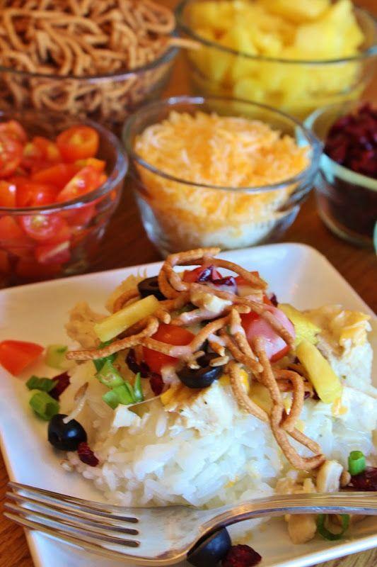Hawaiian haystacks | Yummy Things to Try | Pinterest