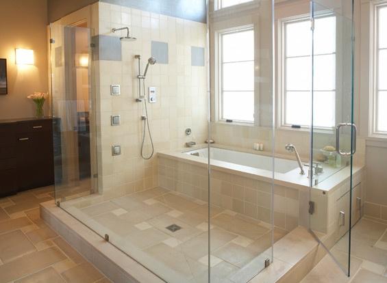 Bath Shower Combo Master Bathroom Pinterest
