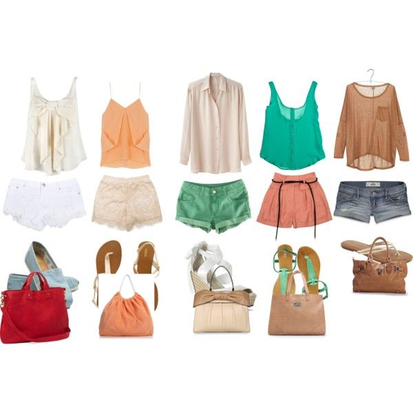 Summer Outfits, created by lexipolyviou on Polyvore
