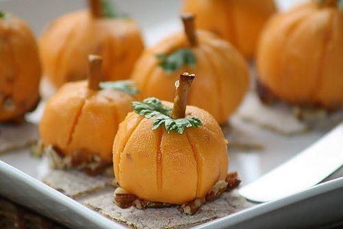 Pumpkin Cheese Balls