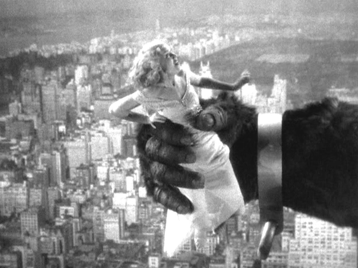 King Kong © 1933 RKO Pictures | MOVIES | Pinterest King Kong Empire State Building With Girl